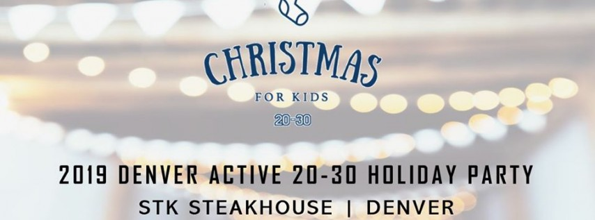 2019 Christmas for Kids Holiday Party