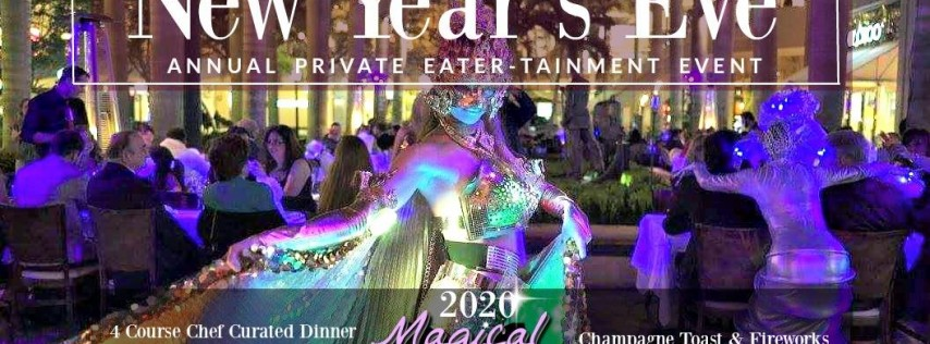 NYE 2020 at Sawa - A Private Magical Eater-Tainment Experience