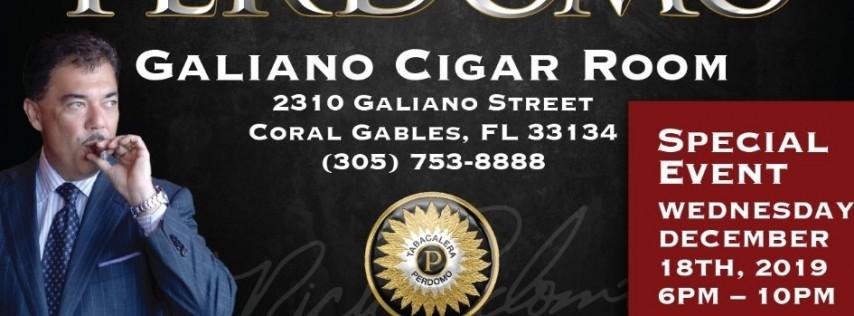 Perdomo Cigar & Whisky Tasting Event