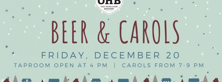 Beer and Carols at OHB