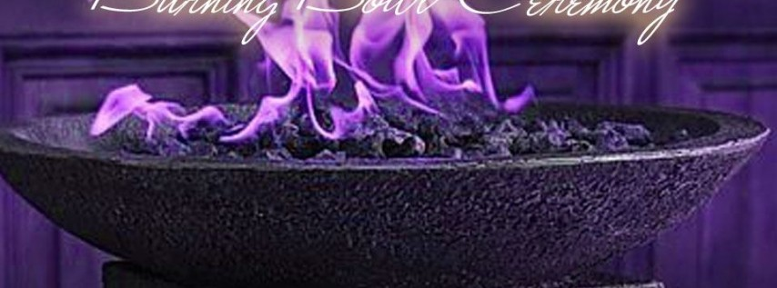 New Year's Eve Burning Bowl Ceremony