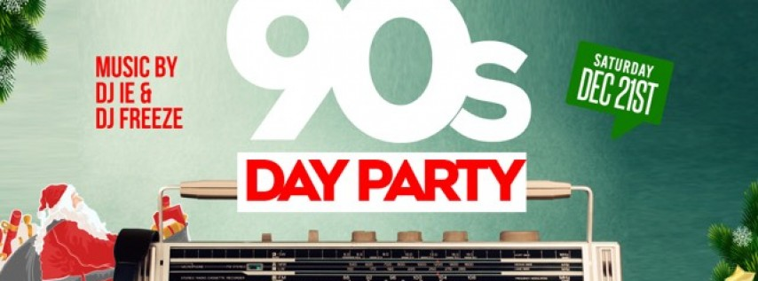 All I Want For Christmas is a DOPE 90s DAY Party