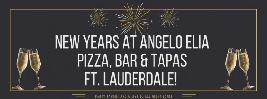New Years Eve Party at Angelo Elia Pizza, Bar & Tapas