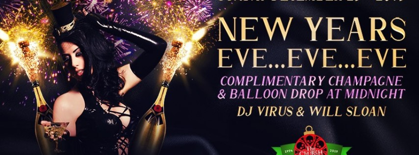 New Year's Eve Eve Eve, Dallas TX - Dec 29, 2019 - 9:00 PM