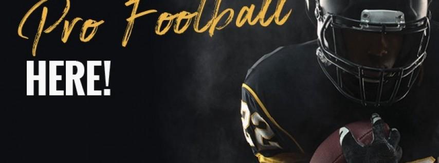 Pro Football on Sunday Funday!
