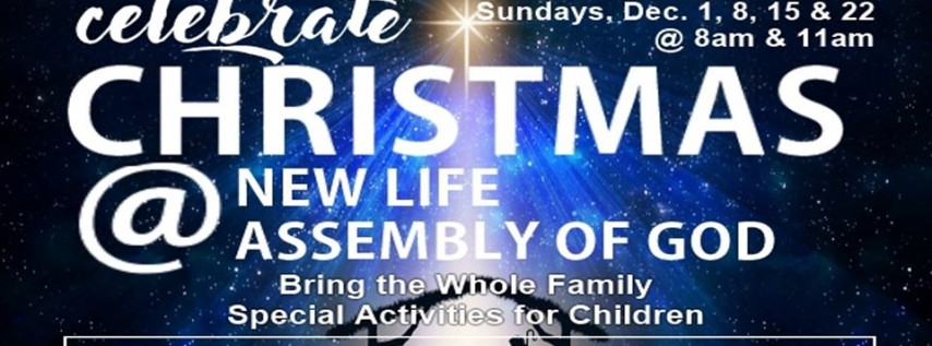 Celebrate Christmas at New Life