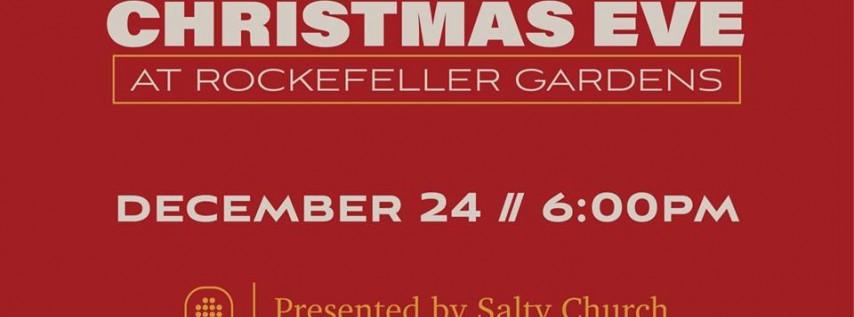 A Christmas Eve Service at Rockefeller Gardens