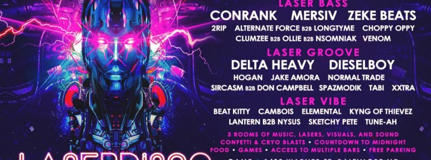 Laser Disco NYE 2019