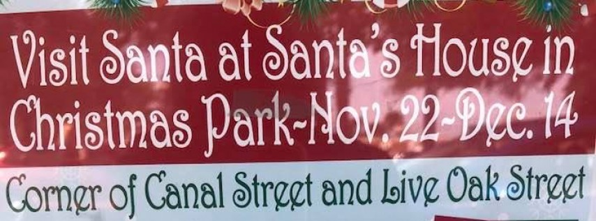 Santa's House in Christmas Park