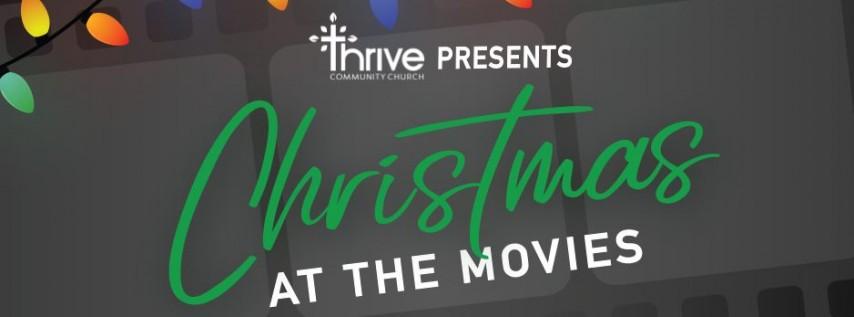 Thrive At the Movies! Anna & Elsa, Elf, Grinch, Free popcorn!