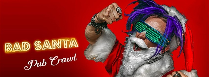 Bad Santa Pub Crawl