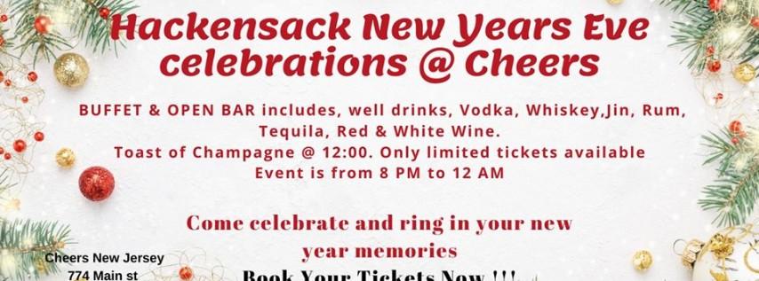 Hackensack New Years Eve Celebration Buffett & Open Bar