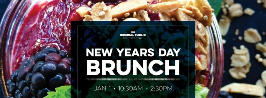 New Years Day Brunch at The General Public