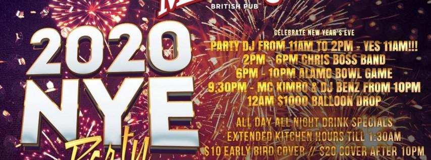 2020 New Year's Eve Party, San Antonio TX - Dec 31, 2019 ...