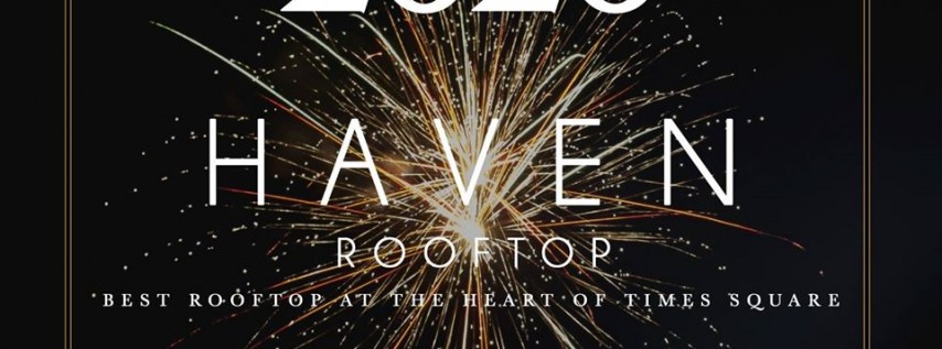New Years Eve at Haven rooftop