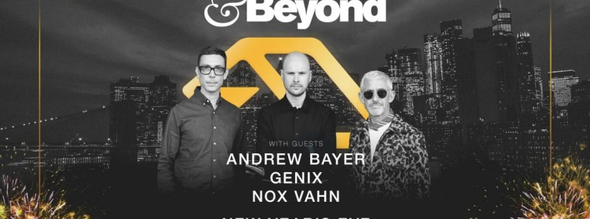 Above & Beyond: NYE in NYC 2020