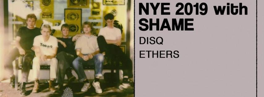 NYE 2019 with shame / Disq / Ethers
