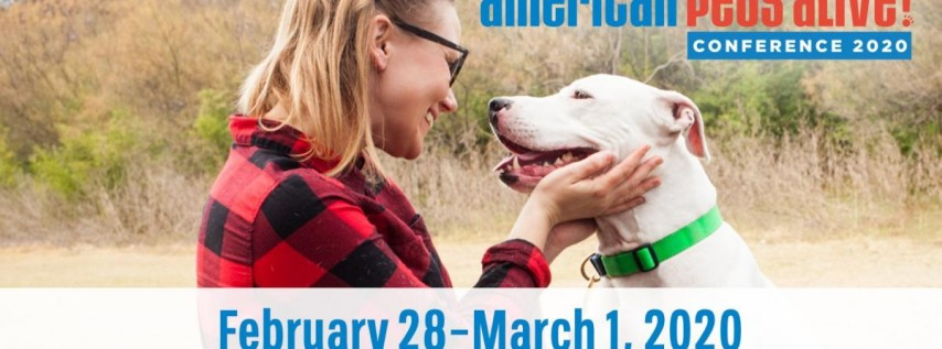 American Pets Alive! Conference 2020