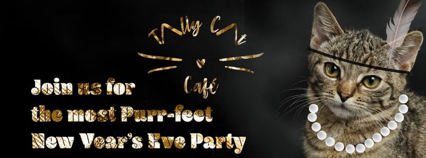 Purring Twenties Mew Years Eve Party