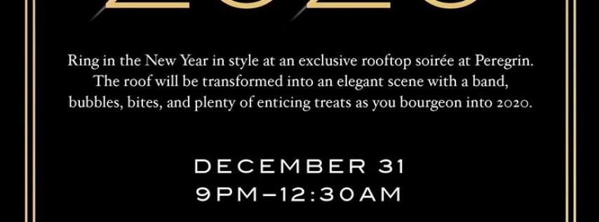 New Year's Eve Rooftop Soirée