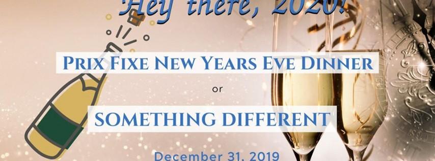 New Years Eve Prix Fixe Dinner