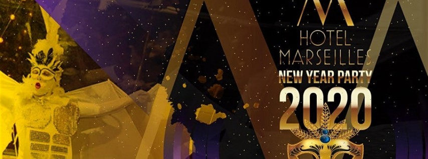 New Years Eve 2020 Backyard Party at the Marseilles Hotel
