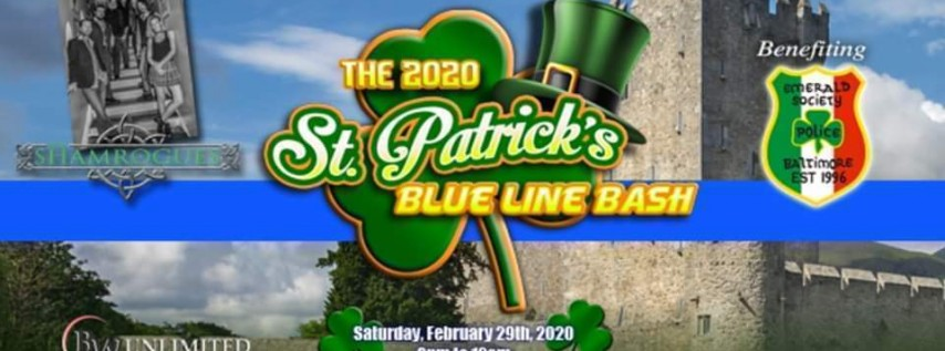 The 2020 St. Patrick's Blue Line Bash