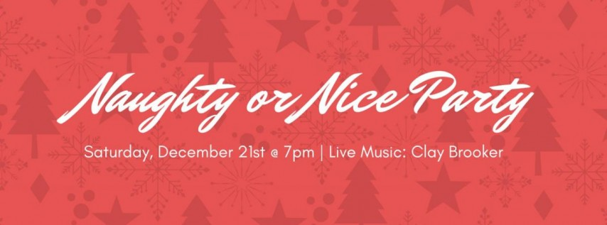 Naughty Or Nice Party - Big Top Brewing Co Gainesville