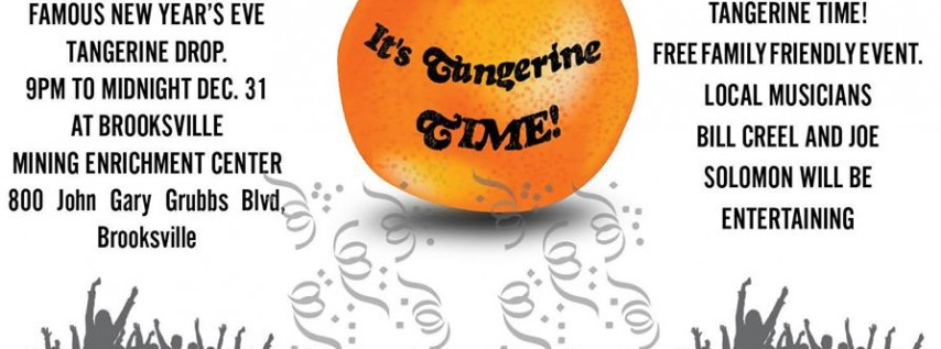 New Year's Eve Tangerine Ball Drop