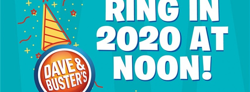 Noon Year's Eve 2020 - Dave & Buster's Houston, TX (Galleria)