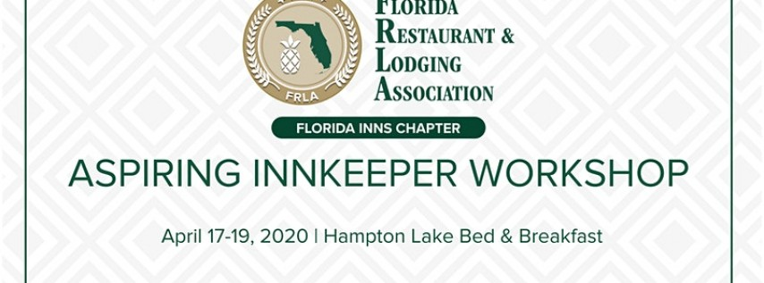 Aspiring Innkeepers Workshop