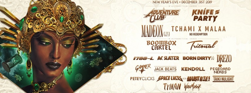 Resolution - New Year's Eve - 3 Stages