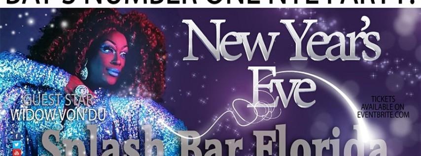 Splash Bar New Year's Eve