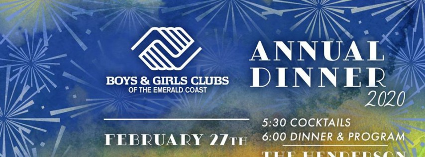 Boys & Girls Clubs of the Emerald Coast Annual Dinner