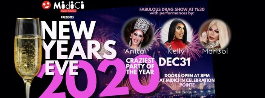 New Years Eve 2020 at MidiCi