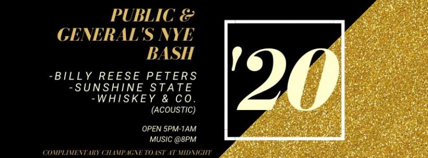 P&G'S New Year's Eve Bash w/ Billy Reese Peters & more!