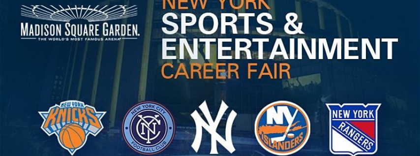 New York Sports and Entertainment Career Fair at Madison Square Garden