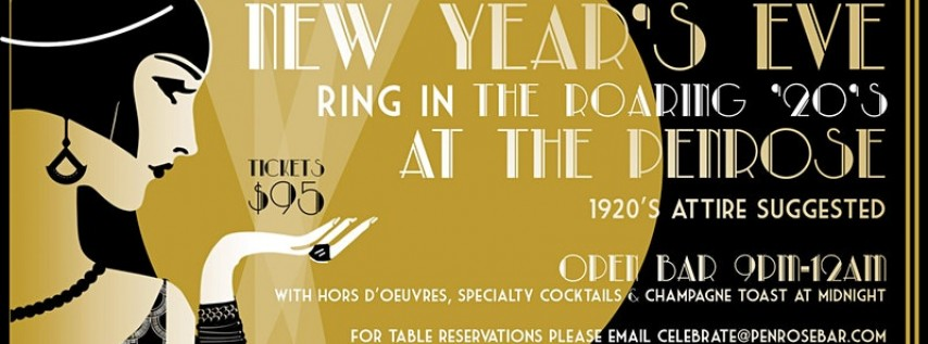 New Year's Eve 2020 at The Penrose