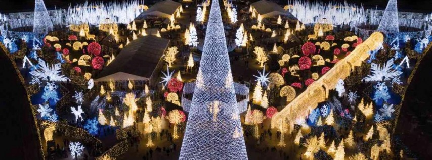 Enchant Christmas - Worlds Largest Christmas Light Maze & Market