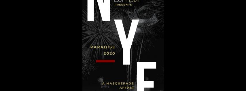 Paradise 2020 | New Year's Eve Masquerade at bar helix