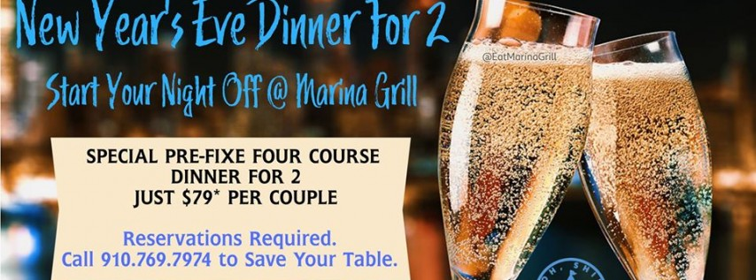 New Year's Eve Dinner On the Water - Reservations Limited