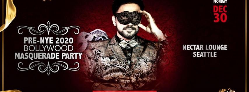 Pre-NYE 2020 Afrobeats Bollywood Masquerade