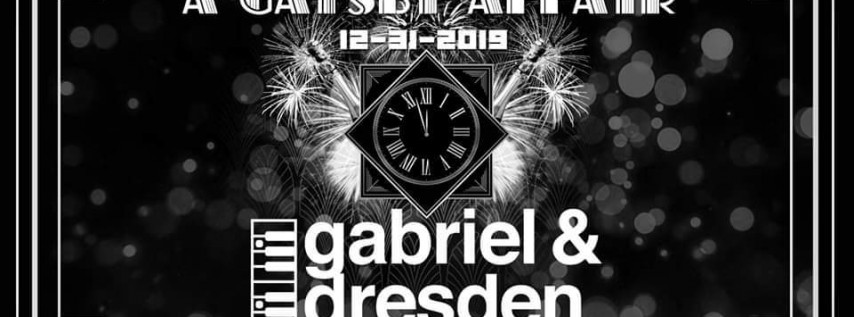 NYE 2020 a Gatsby Affair with Gabriel and Dresden