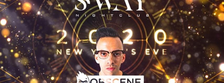 SWAY Nightclub NYE 2020
