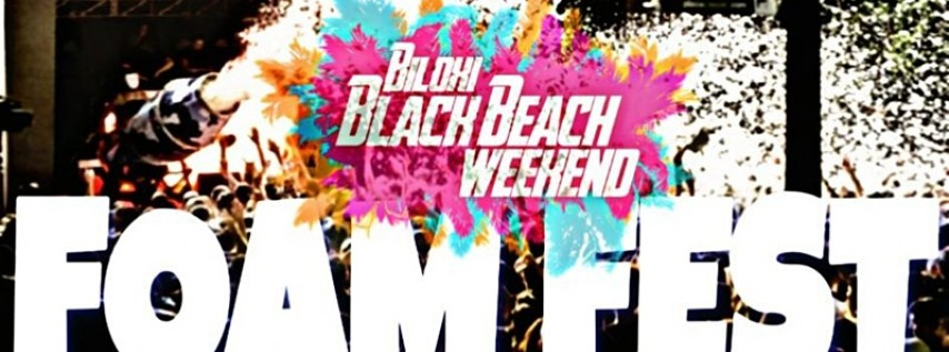 Black Beach Foam Fest