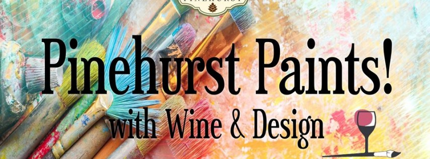 Pinehurst Paints with Wine & Design
