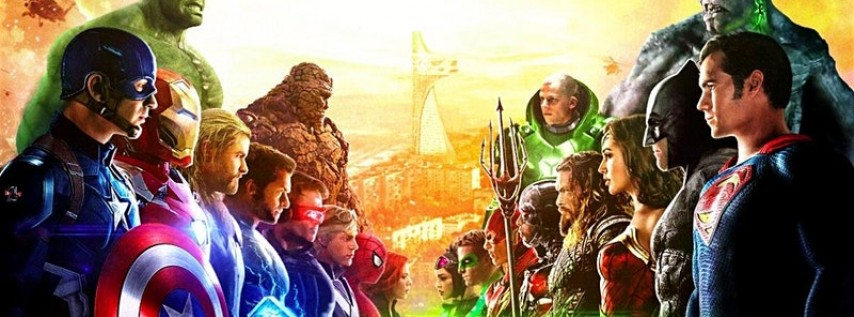Marvel vs. DC Pub Crawl - Houston - February 8, 2020