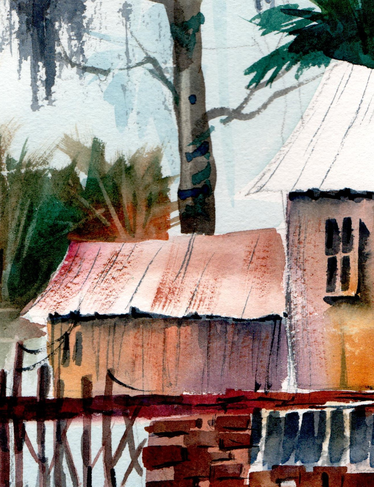 Watercolor Essential Class with Ed Carlson