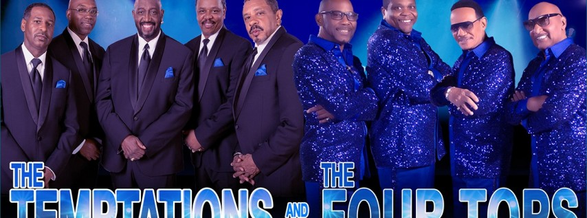 The Temptations & The Four Tops @ The Peabody Auditorium
