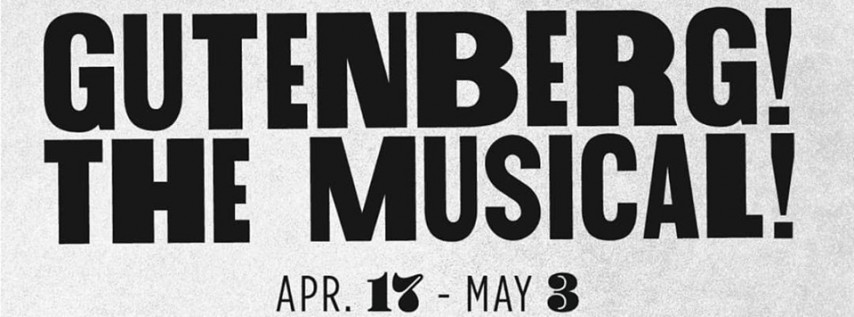 Auditions | GUTENBERG! THE MUSICAL! | directed by Michael Lipp